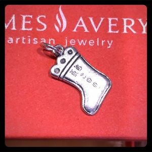 James Avery Retired Christmas Stocking Charm